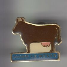 RARE PINS PIN'S .. AGRICULTURE VACHE COW KUH ELEVAGE BOUCHERIE MENER ST M. 94~CK