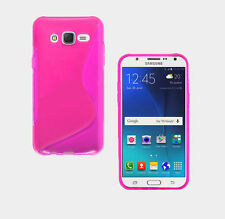 S-Line Wave TPU Soft Silicone Plastic Gel Rubber Case Cover For Samsung Mobile