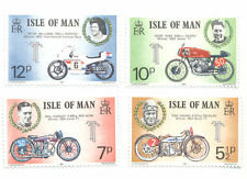 Motorcycles-TT Races mnh set Isle of Man TT races