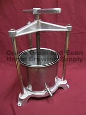 Aluminum/Stainless Fruit Press by Ferrari, Wine Press, Fruit Press,Made In Italy