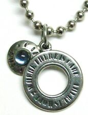 CARE pendant - Ring with light blue center