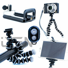 Flexible Octopus Tripod 3 in 1 Bundle Bluetooth iPhone Camera Holder Samsung