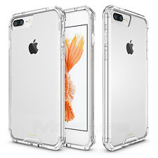 Clear Hybrid Rubber Shockproof Crystal Hard Case Cover for Apple iPhone 7 Plus
