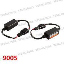 2x CANBUS Headlight Load Resistor 9005 HB3 LED Error Code Free Canceller Decoder