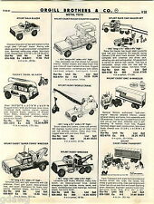 1981 ADVERT Nylint Toy Tow Wrecker Truck Cadet Ford Bronco Buzzard Bass Tracker