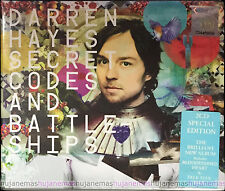 DARREN HAYES Secret Codes And Battleships MALAYSIA SPECIAL Edition DIGIPAK 2CD