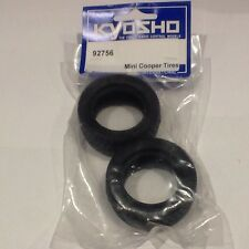 KYOSHO MINI COOPER TIRE SET NIP 92756 VINTAGE