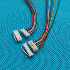 10sets  x Micro JST 1.25mm 9-Pin Male & Female Connector with wire