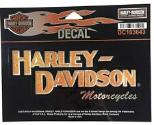 Harley Davidson Block H-D Decal Genuine New DC103643