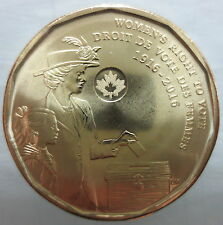 CANADA 2016 WOMEN'S RIGHT TO VOTE 100TH ANNIVERSARY DOLLAR