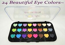 Beauty Treats 24 Colors Heart Love Eye Shadow Palette *US SELLER""