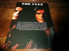 THE CULT - Mini poster couleurs !!!!!!!!!