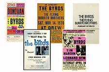 THE BYRDS - SET OF 5 - A4 POSTER PRINTS # 1