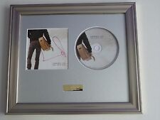 SIGNED/AUTOGRAPHED LAURENCE FOX - SORRY FOR MY WORDS CD FRAMED PRESENTATION