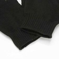 Polyester Stainless Steel Wire Metal Mesh Gloves Cut Resistant Outdoor Safety UP