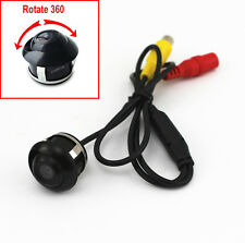 Car Vehicle Rear View Side/ Front Camera Reverse Backup Parking Mini 360° CCD HD