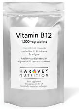 Vitamin B12 1000mcg 365 Tablets High Strength,Fatigue, Immune Support,Free Post