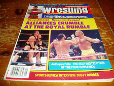 Sports Review Wrestling Magazine May 1989 Issue WWF / WWE