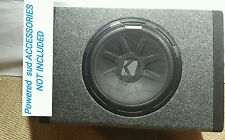 """1  Kicker PT250 10"""" Subwoofer with Built-In 100W Amplifier"""
