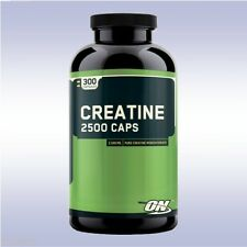 OPTIMUM NUTRITION CREATINE 2500 MG CAPS (300 CAPSULES) monohydrate creapure on