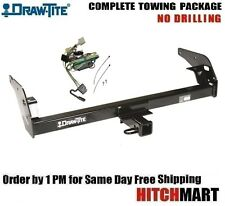 "CLASS 3 TRAILER HITCH & WIRING FOR 1996-2004 TOYOTA TACOMA  2"" RECEIVER  75078"