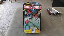 Kenner Total Justice Green Arrow with Multi-Action Mega Longbow figure, New!