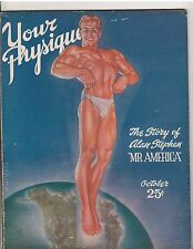 Your Physique Bodybuilding muscle magazine Alan Stephan Mr America 10-46