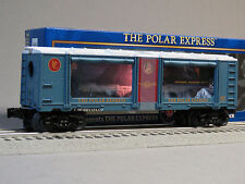 LIONEL POLAR EXPRESS ANIMATED AQUARIUM TRAIN CAR o gauge operating 6-82510 NEW