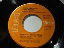 JERRY REED & CHET ATKINS NM- Jerry's Breakdown 45 Nashtown Ville 74-0775 RCA 7""