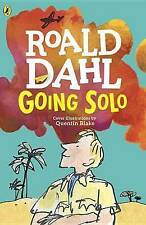 LIKE NEW! Going Solo by Roald Dahl FREE AUST POST! Paperback 2013