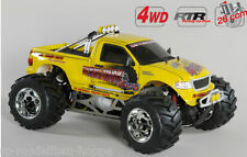 FG Modèle sport Gröschl Monstertruck WB535 RTR jaune 24010R 26ccm Carburant