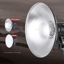 Beauty Dish Reflector Strobe Lighting Speedlite Video Light Bowens Mount SL