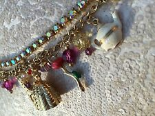 DISNEY COUTURE Beauty and the Beast Charm Bracelet Limited Edition MADELINE BETH