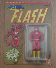 DC COMICS Superheroes THE FLASH carded action figure. Vintage 1990 Unpunched