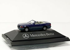 Herpa Mercedes Benz-MB 500 SL Cabrio + hard top-MERCEDES Edition - 1/87 OVP