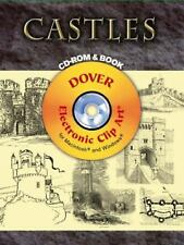 Castles CD-ROM and Book Dover Electronic Clip Art