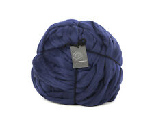 4kg Midnight Blue Mammoth Giant Chunky Extreme Arm Knitting Yarn Big Bulky Huge