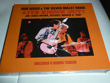 CD.2CD BOB SEGER & THE SILVER BULLET BAND.LIVE DETROIT 87.UNRELEASED.SOUNDBOARD