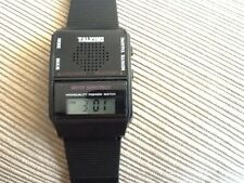 Spanish taking Wrist Watch visually impaired. 1 FREE BATTERY. BATERIA GRATIS.