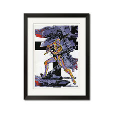 Metal Gear Solid Cyborg Ninja Tactical Machinery Poster Print
