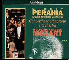 Mozart CONCERTI PER PIANOFORTE E ORCHESTRA English Chamber Orch MURRAY PERAHIA