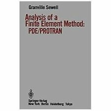 Analysis of a Finite Element Method: PDE/PROTRAN-ExLibrary