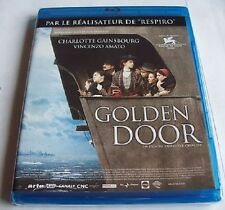 BLU RAY NEUF - GOLDEN DOOR / LA PORTE D'OR - CHARLOTTE GAINSBOURG - PRIX VENISE