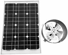 Amtrak Solar Attic Fan, 40 Watt Solar Panel, High Efficiency Fan Blades