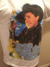 Vtg 90's George Strait Concert T.  McGraw T-Shirt XL 90s Country Western Rodeo