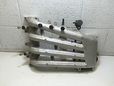 USED INTAKE MANIFOLD #5030674 FOR 1999 70HP EVINRUDE OUTBOARD MOTOR ~E70PL4EE~