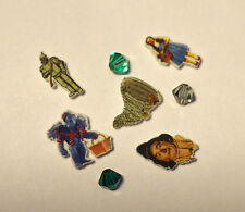 5 WIZARD OF OZ FLOATING LOCKET DORTHY TIN MAN SCARECROW MONKEY TORNADO