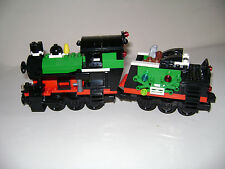 LEGO 10173 HOLIDAY TRAIN LOCOMOTIVE ONLY 2 CARS MINT CONDITION