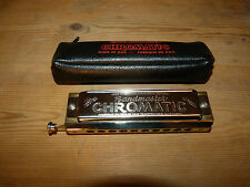 Vintage Chromatic Harmonica 'Bandmaster' Made in the German Democratic Republic