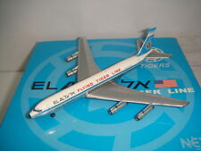 "Netmodels 500 Flying Tigers B707-300B ""El Al Hybrid color""s 1:500"